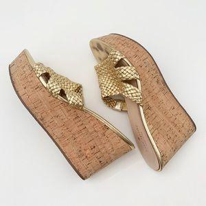 kate spade   taravela wedge sandals